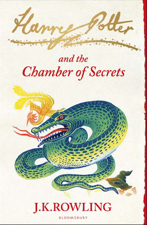 Harry Potter And The Chamber Of Secrets Book Cover | BookRiot.com