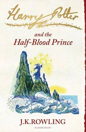 Harry Potter And The Half-Blood Prince Book Cover | BookRiot.com