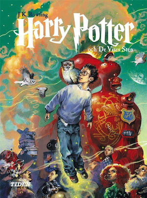Harry Potter And The Philosopher's Stone | Swedish Harry Potter Book Covers