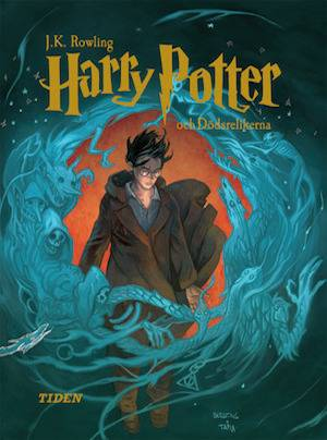 Harry Potter And The Deathly Hallows | Swedish Harry Potter Book Covers