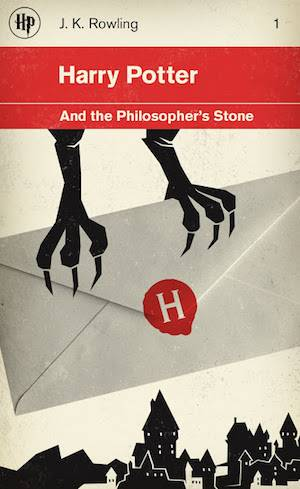 Harry Potter And The Philosopher's Stone | Different Book Covers