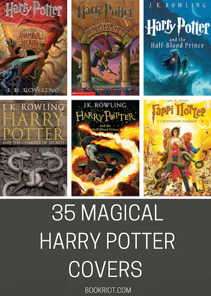 35 Harry Potter Book Covers (Including The New Ones!) | BookRiot.com