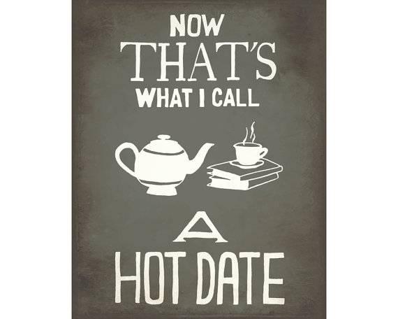 Hot date tea books