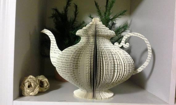 Book tea art