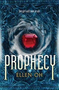 cover of prophecy by ellen oh