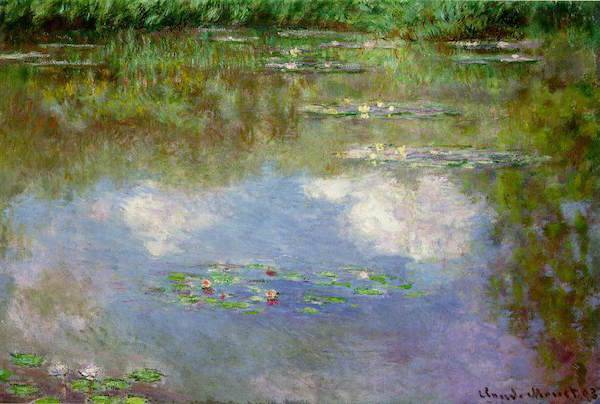 Water Lilies (With Clouds) by Claude Monet