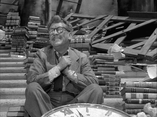 Twilight Zone Reading Guy