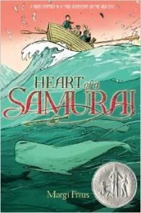 Heart of a Samurai bby Margi Preus