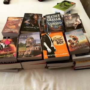 Day two book haul