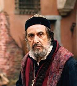 Al Pacino as Shylock in The Merchant of Venice (2004).