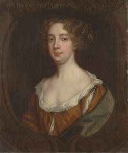 Portrait of Aphra Behn, by Peter Lely, c. 1670