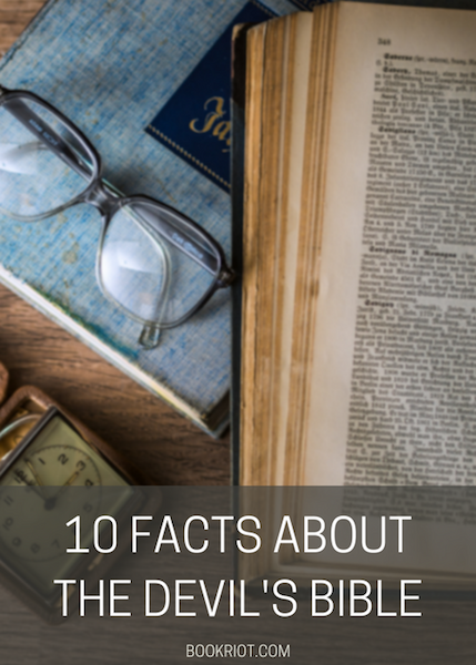 10 Things You Should Know About The Devil's Bible (Or Codex Gigas)   BookRiot.com