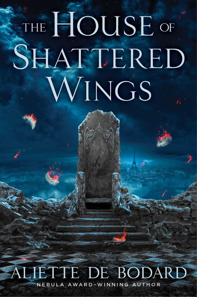 house shattered wings
