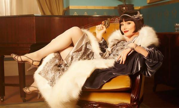The most important part of your Phryne Fisher Halloween costume is the attitude.