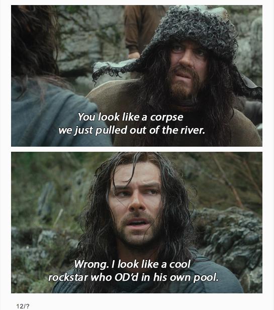 The Hobbit + Brooklyn 99
