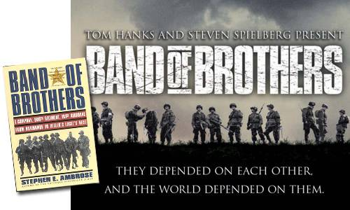Band of Brothers Show and Adapted Book