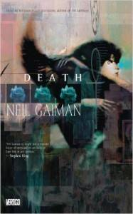 Death Deluxe Edition, cover by Dave McKean