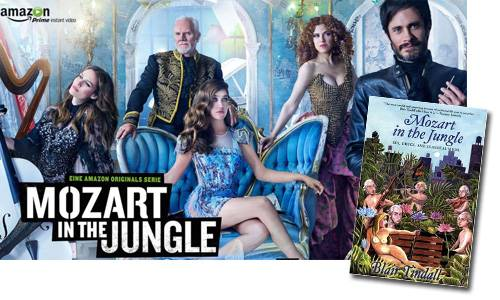 Mozart in the Jungle Show and Adapted Book