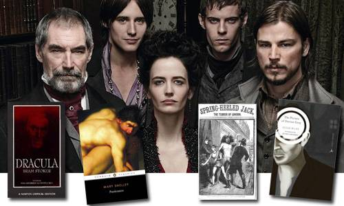 Penny Dreadful Show and Adapted Book