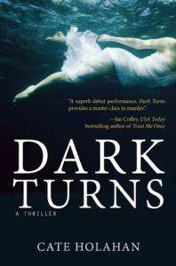 cover of Dark Turns by Cate Holahan