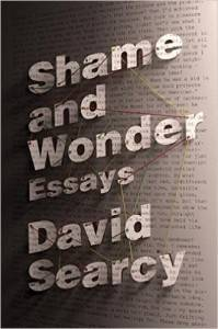 cover of shame and wonder by david searcy