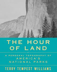 cover of the hour of land by terry tempest williams
