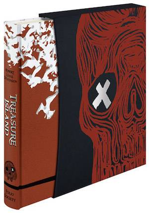 Treasure Island | 10 Folio Society Books to Give to Your Children This Christmas