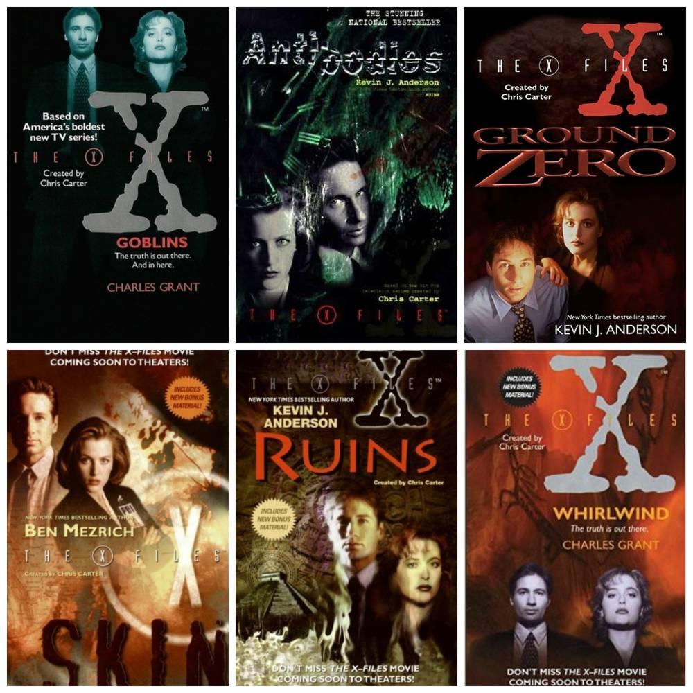 x-files novels