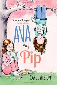 Ava and Pip by Carol Weston cover