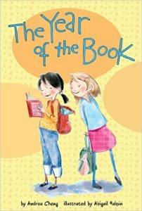 The Year of the Book by Andrea Cheng cover