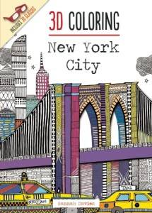 3D Coloring New York City by Hannah Davies