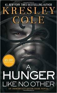 Hunger Like No Other Kresely Cole audiobook