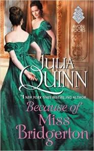 Because of Miss Bridgerton Julia Quinn audiobook