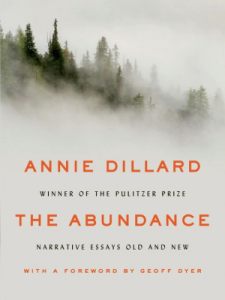 the abundance by annie dillard