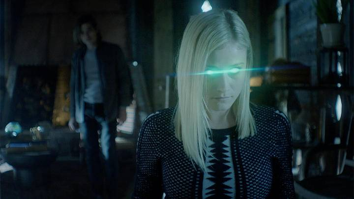 alice from the magicians with badass glowing eyes