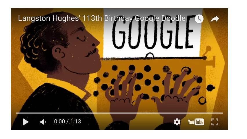 2:1:15 Langston Hughes' 113th Birthday
