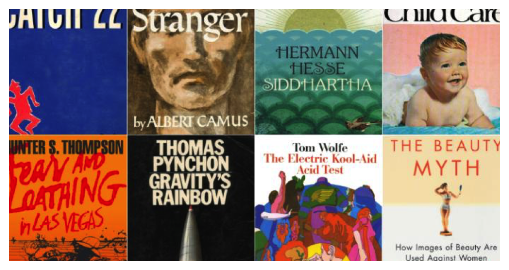 50 Great Cult Books and More in Today's Critical Linking