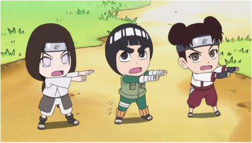 Rock Lee and His Ninja Pals. Original story by Kenji Taira. Characters originally by Masashi Kishimoto. VIZ Media/Studio Pierrot.