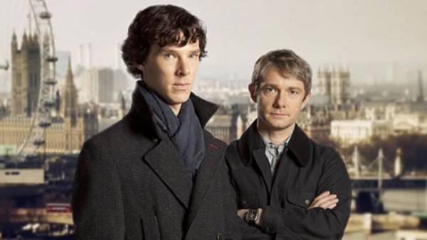 sherlock holmes watson benedict cumberbatch martin freeman bbc