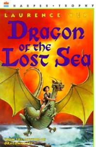 cover of Dragon of the Lost Sea by Laurence Yep