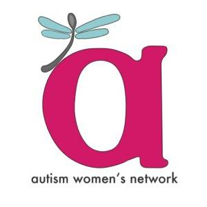 autism women's network logo a with dragonfly