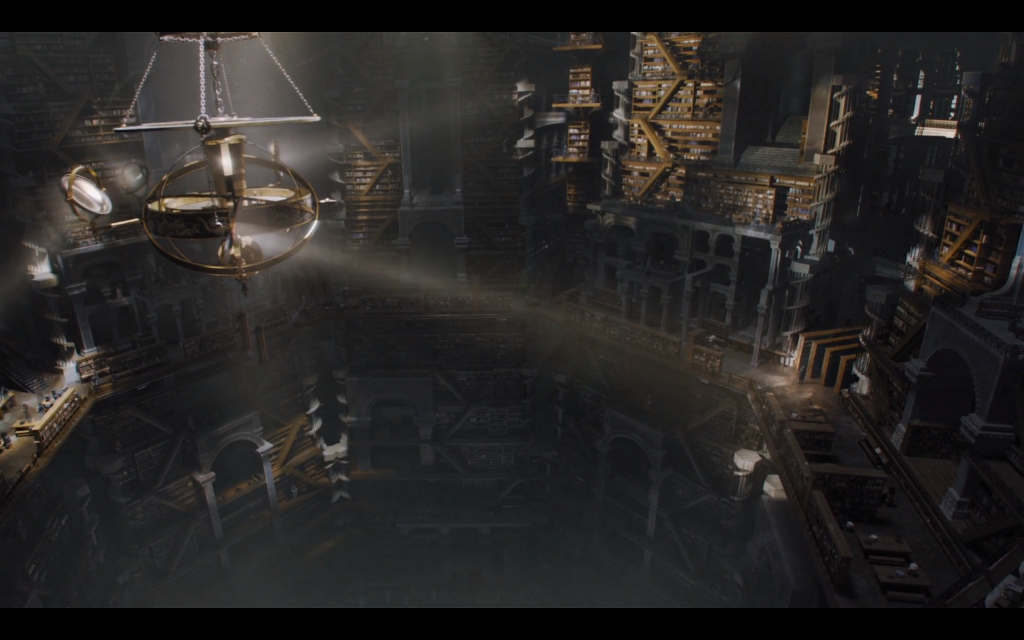 The citadel library in game of thrones