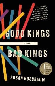 good kings bad kings book cover by susan nussbaum
