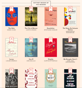 Lit Hub Book Marks Hottest Books