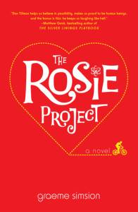 the rosie project book cover by graeme simsion