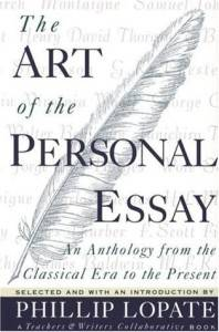 Art Personal Essay Lopate