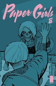 Paper Girls #8 by Brian K. Vaughan and Cliff Chiang