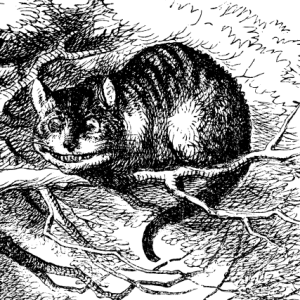 Alice in Wonderland Cheshire Cat Tenniel
