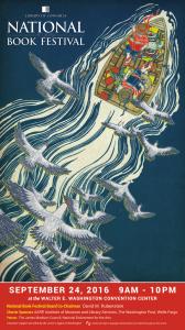 National Book Festival 2016 poster