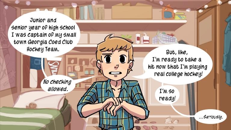 Check, Please! Year One. Ngozi Uzaku. Webcomic. Comic.